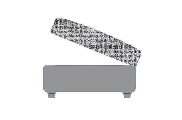 Dakota Accent Storage Footstool