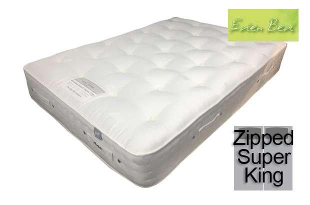 Eden Moresdale Natural Angora 1700 Zipped Super King Size Mattress