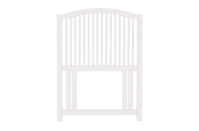 Ashby Wooden White Painted Headboard