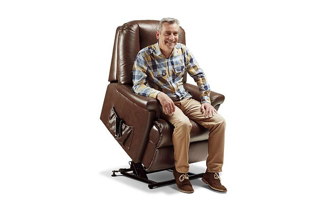 Weymouth Leather Small Lift & Rise Care Recliner Chair