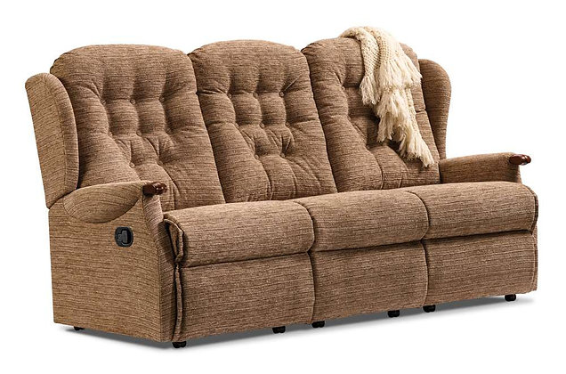 Lambeth Knuckle Standard 3 Seater Recliner Sofa