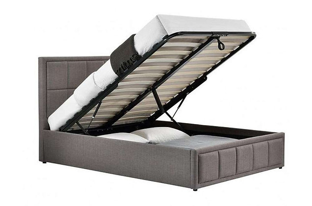 """Panel Ottoman 4'6"""" Double Bed"""