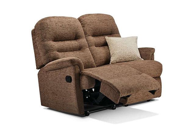 Seaton Small 2 Seater Recliner Sofa