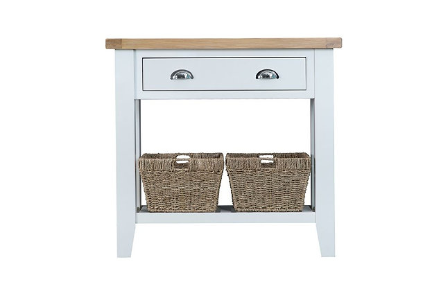 Country Console Table (Wimborne White)
