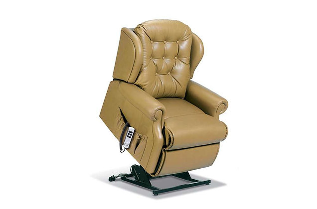 Lambeth Leather Petite Lift & Rise Care Recliner Chair