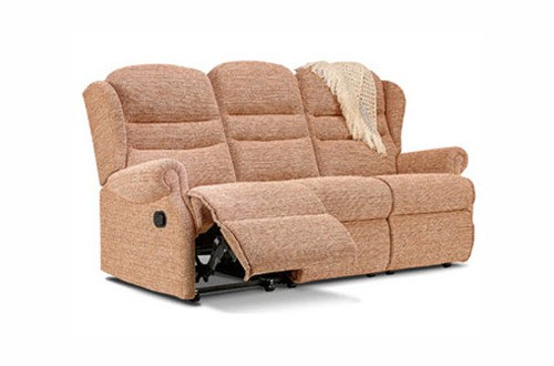 Vienna Small 3 Seater Recliner Sofa