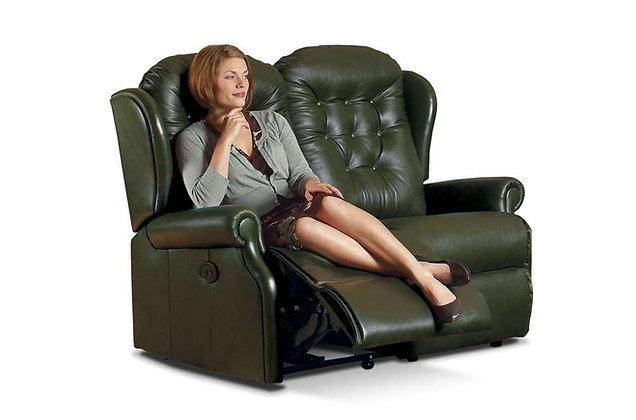 Lambeth Leather Standard 2 Seater Recliner Sofa