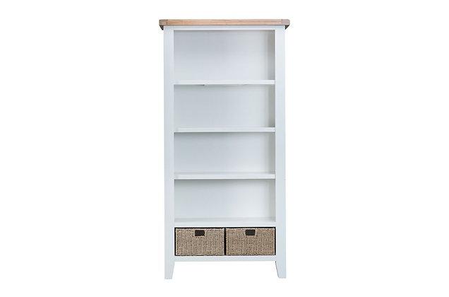 Country Large Bookcase (Wimborne White)