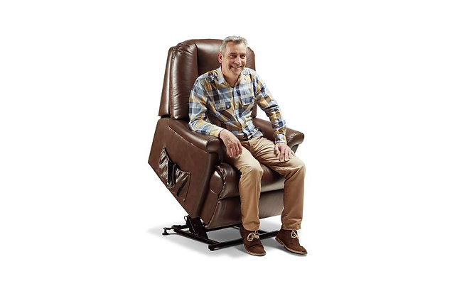 Weymouth Leather Petite Lift & Rise Care Recliner Chair