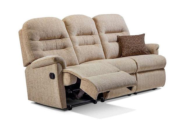 Seaton Small 3 Seater Recliner Sofa
