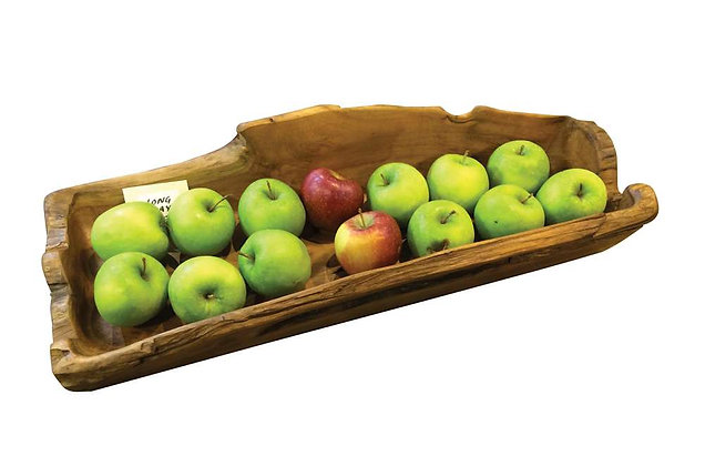 Teak Long Tray - Chunky