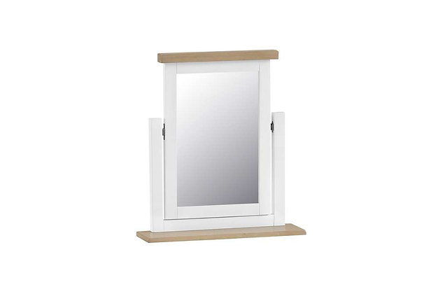 Country Dressing Table Mirror (Wimborne White)