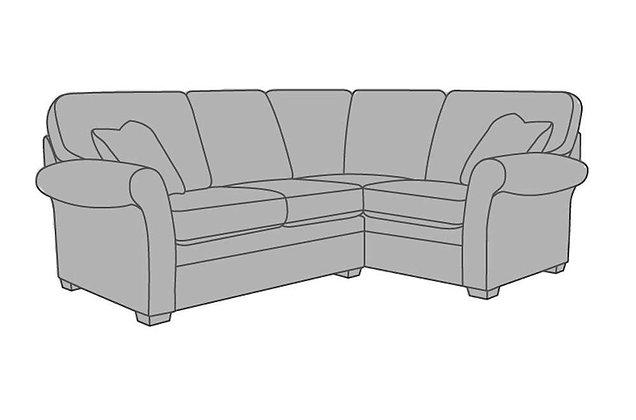 Victoria Small Right Hand Facing Corner Sofa