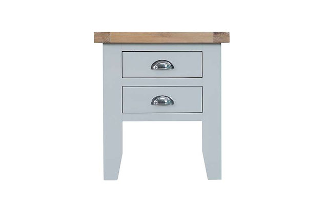 Country Lamp Table (Ferndown Grey)