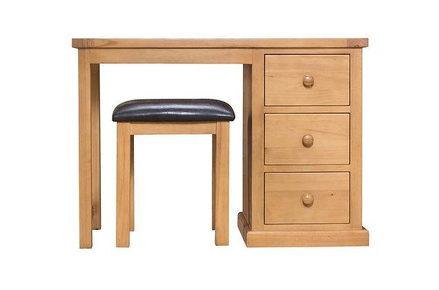 Shaker Pine Dressing Table & Stool