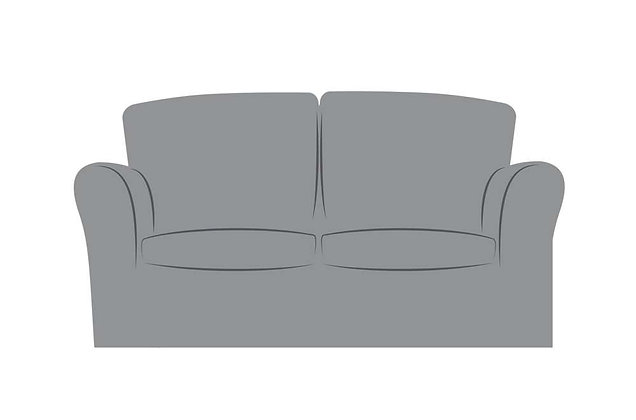 Reimes 2 Seater Standard Back Sofa