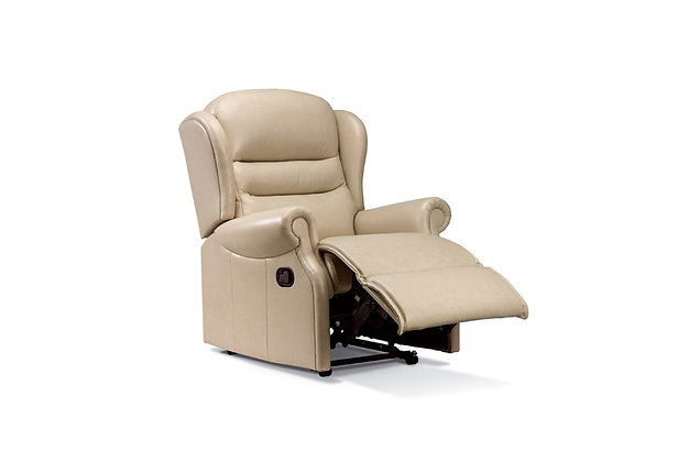 Vienna Leather Small Recliner Chair