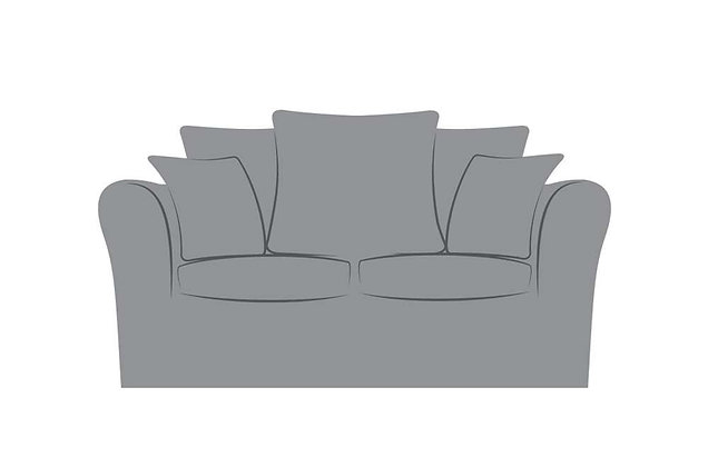 Florence 2 Seater Pillow Back Sofa