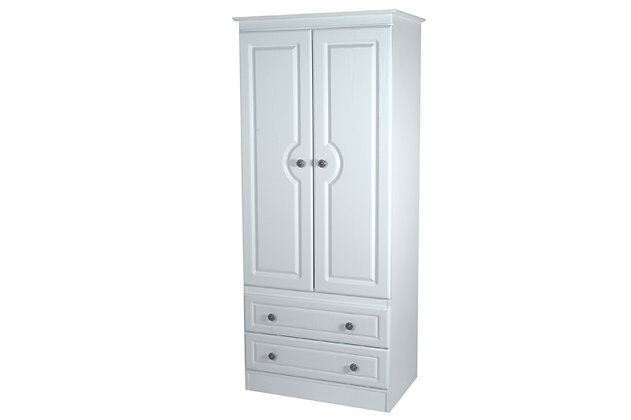 Denton 2ft6in 2 Drawer Wardrobe