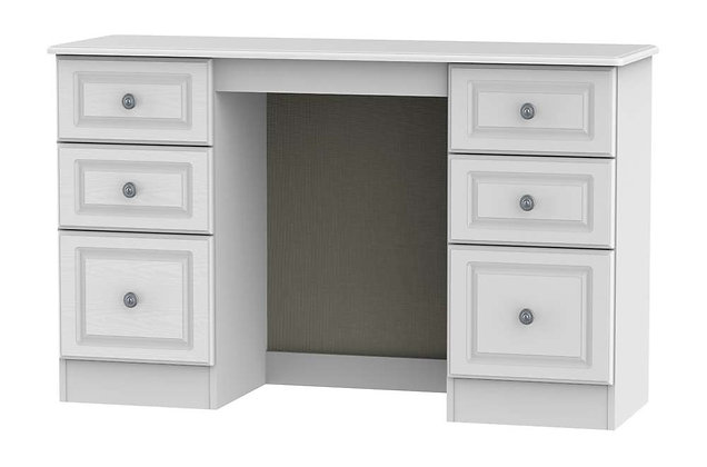 Denton 6 Drawer Kneehole Dressing Table