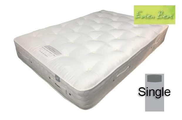 Eden Silverdale Natural Cotton 1200 Single Mattress