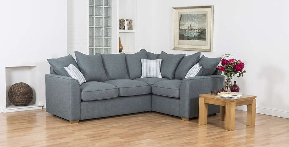 Tallin Pillow Back Corner Sofa Group  | Richard Eade Furniture | Hampshire & Surrey