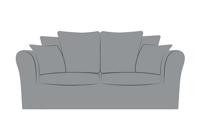 Dakota Medium Pillow Back Sofa