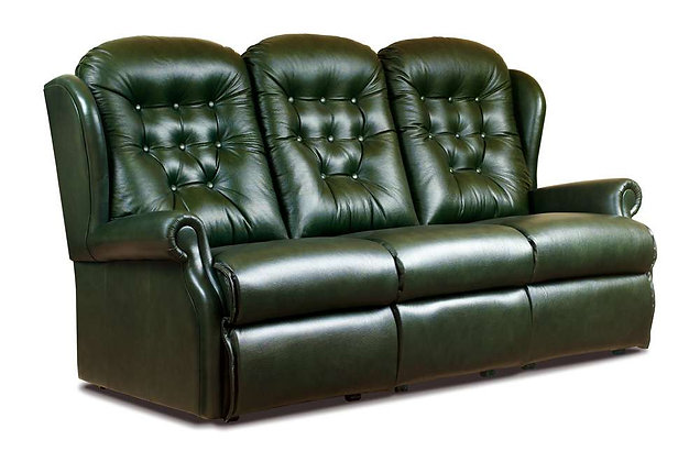 Lambeth Leather Standard 3 Seater Sofa