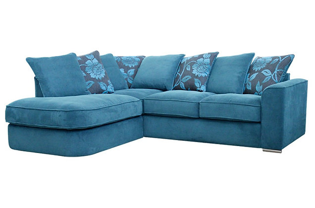 Boardwalk Left Hand Facing Pillow Back Chaise Corner Sofa