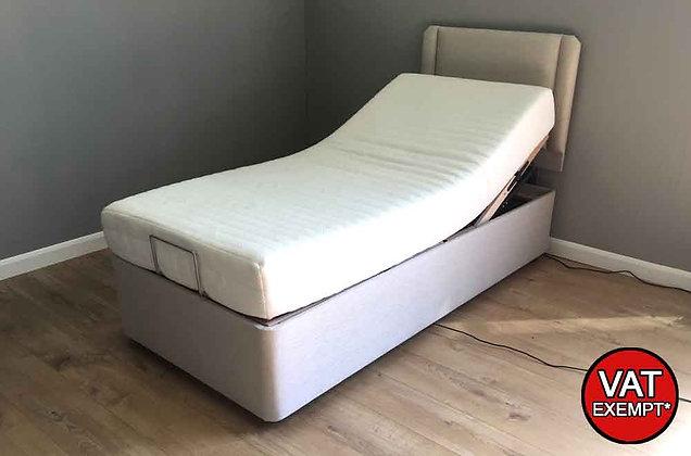 Contour Platinum 90cm Single Adjustable Divan Bed – Firmer Feel