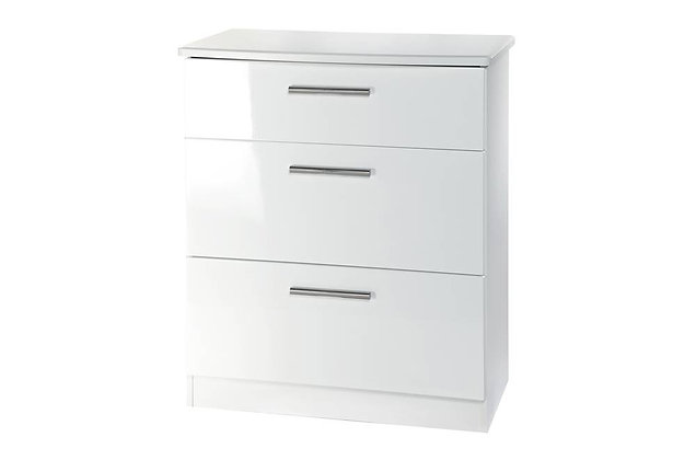 Reflections 3 Drawer Deep Chest