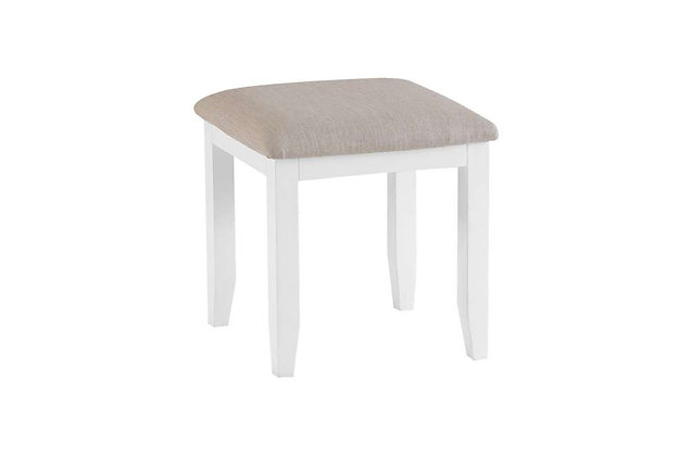 Country Dressing Table Stool (Wimborne White)
