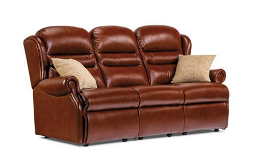 Vienna Leather Standard 3 Seater Sofa