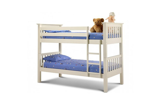 Shaker White Bunk Bed