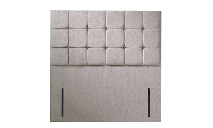 Cube Floorstanding Fabric Upholstered Headboard
