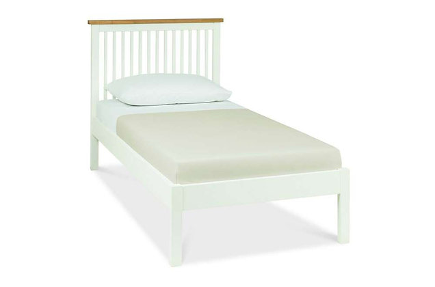 Atlanta Two Tone 90cm Single Low Foot End Bedstead