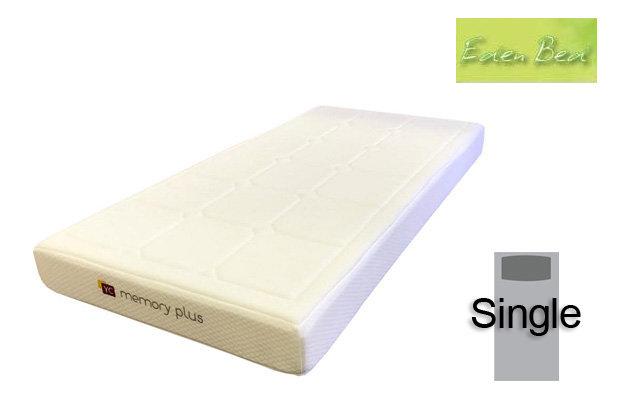Eden Beds Memory Plus Single Mattress