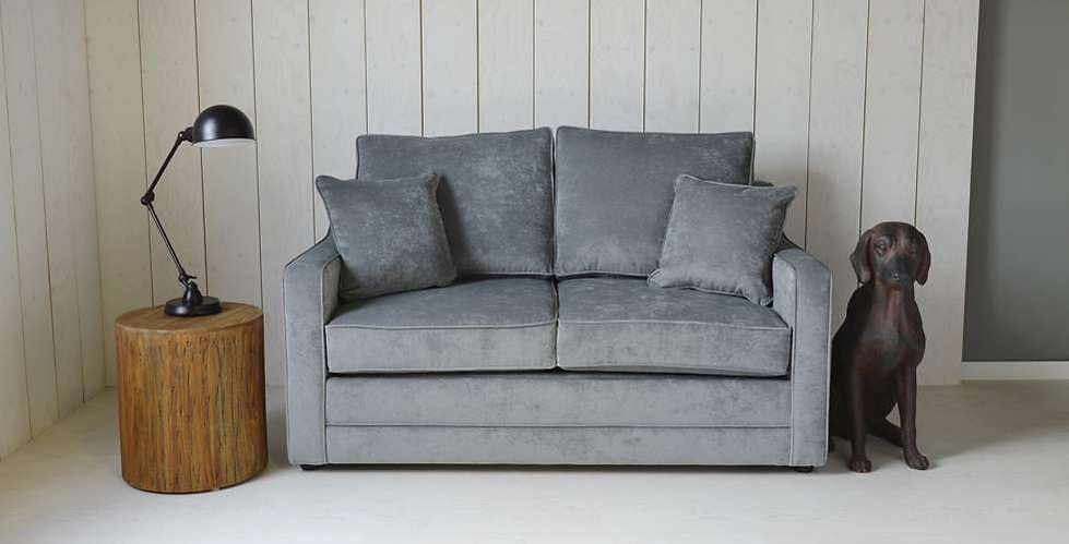 Rye 3 Seater Fabric Sofabed