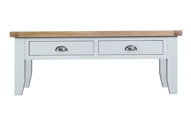 Country Large Coffee Table (Wimborne White)