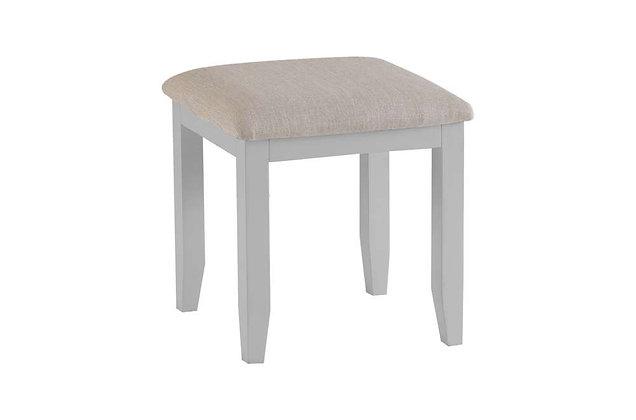 Country Dressing Table Stool (Ferndown Grey)