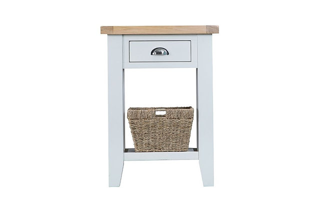 Country Telephone Table (Wimborne White)