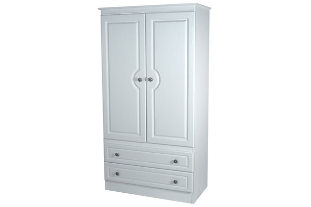 Denton 3ft 2 Drawer Wardrobe
