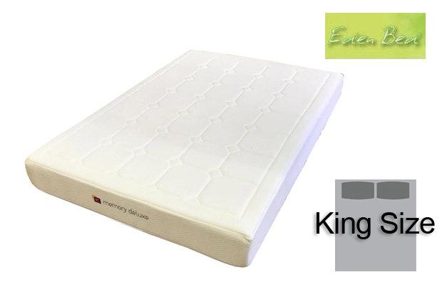 Eden Beds Memory Deluxe King Size Mattress