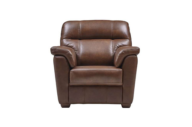 Burlington Leather Armchair