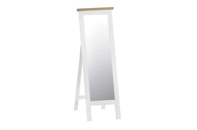 Country Cheval Mirror (Wimborne White)