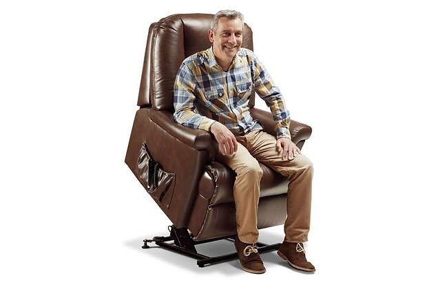 Weymouth Leather Royale Lift & Rise Care Recliner Chair