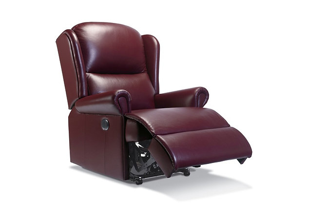 Monty Leather Royale Recliner Chair