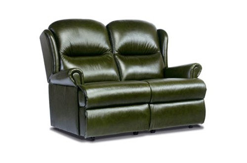 Monty Leather Standard 2 Seater Sofa