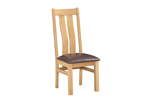 Sussex Twin Slatted Dining Chair (Pair)