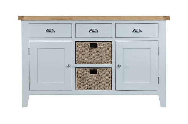 Country Large Sideboard (Ferndown Grey)